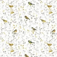 3523-740 Ткань Птичьи принцы, ширина 145см, Acufactum Ute Menze