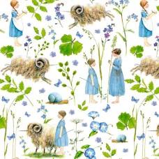 3523-560 Ткань Овца-единорог, ширина 145см, Acufactum Ute Menze