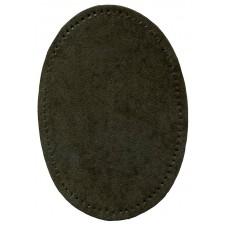 Заплатки термоклеевые искусственная замша HKM, серые, 2 шт