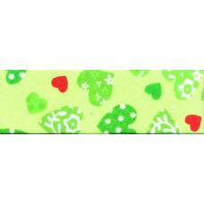 Косая бейка хлопковая с рисунком SAFISA, 20 мм, 20 м, цвет 118