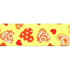 Косая бейка хлопковая с рисунком SAFISA, 20 мм, 20 м, цвет 109