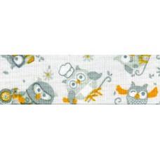 Косая бейка хлопковая с рисунком SAFISA, 20 мм, 20 м, цвет 03