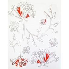 Чип-борд картонный Полевые цветы