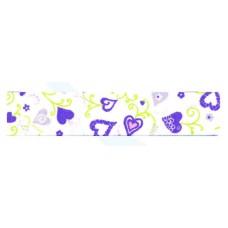 Косая бейка с рисунком, 20 мм, 20 м