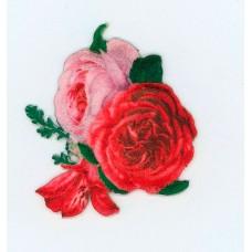 Термоаппликация с 3D эффектом HKM Букет цветов