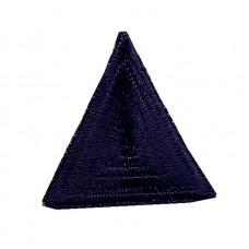 Термоаппликация HKM Треугольник цвет темно-серый