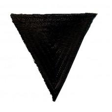 Термоаппликация HKM Треугольник цвет черный