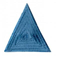 Термоаппликация HKM Треугольник цвет голубой