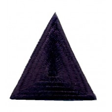 Термоаппликация HKM Треугольник цвет темно-синий