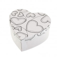 Коробки для упаковки подарков в технике декупаж Сердце