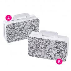 Коробки для упаковки подарков в технике декупаж Чемодан