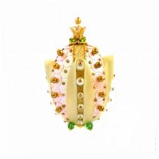 Набор для творчества декоративное яйцо Тюльпан Великолепный золотой