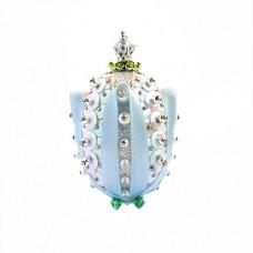 Набор для творчества декоративное яйцо Тюльпан Великолепный серебряный