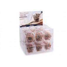 Дисплей с булавками в пластиковых коробочках