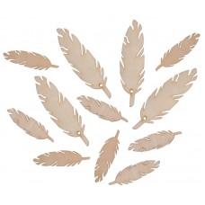 Фигурки плоские для ловца снов Перья