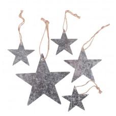 Декоративные подвески Звезды