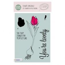 Набор прозрачных штампов Stamp Clear VEER & MOON Язык цветов: Тюльпан