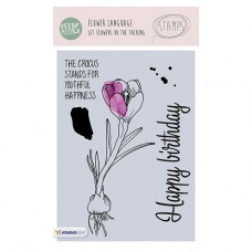 Набор прозрачных штампов Stamp Clear VEER & MOON Язык цветов: Нарцисс