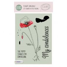 Набор прозрачных штампов Stamp Clear VEER & MOON Язык цветов: Мак