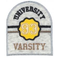 Термоаппликация Университетская атлетическая команда 93