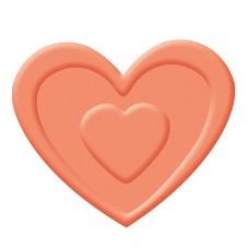 Дырокол с эмбоссингом Сердце
