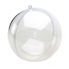Шар пластиковый разъёмный, 6 см