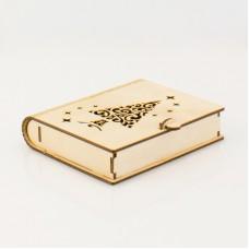 Коробка-книга с елочкой