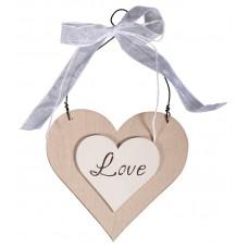 Декоративный элемент-подвеска Love