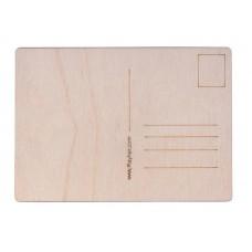 Набор почтовых открыток из дерева