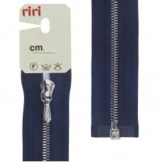 Молния металл, Ni, слайдер Tropf, 4 мм, разъёмная однозамковая, 100 см, цвет 2626, кобальт синий
