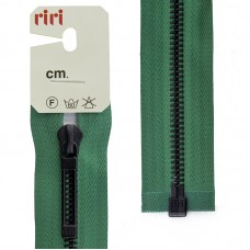 Молнии riri звено BI, слайдер STAB, разъёмная, 1 замок, 6 мм, 60 см, цвет 2715, зеленый