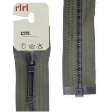 Молнии riri звено BI, слайдер STAB, разъёмная, 1 замок, 6 мм, 60 см, цвет 2816, темный хаки