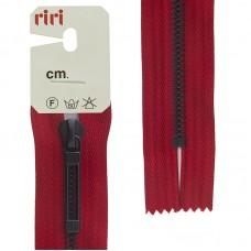 Молнии riri звено BI, слайдер STAB, неразъёмная карманная, 6 мм, 18 см, цвет 2407, красный