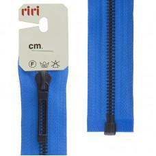 Молнии riri звено BI, слайдер STAB, неразъёмная карманная, 6 мм, 18 см, цвет 2652, лазурный