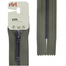 Молнии riri звено BI, слайдер STAB, неразъёмная карманная, 6 мм, 18 см, цвет 2816, темный хаки
