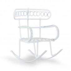Садовая миниатюра Кресло-качалка