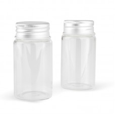 Бутылка декоративная с закручивающейся крышкой