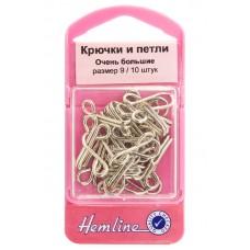 Крючки и петли 10шт,никель