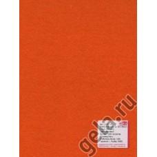 Лист фетра, 100% полиэстр, 30 х 45см х 2 мм / 350г/м2, оранжевый