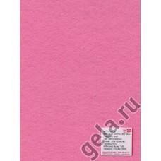 Лист фетра, 100% полиэстр, 30 х 45см х 2 мм/350г/м2, светло-розовый