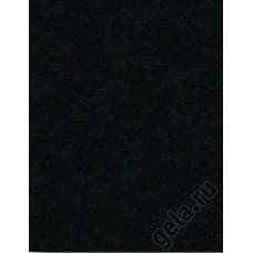 Лист фетра, 100% полиэстр, 30 х 45см х 2 мм / 350г/м2, черный