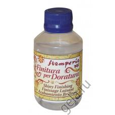 Лак финишный Finitura per Doratura для закрепления эффекта золочения
