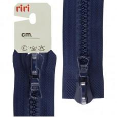 Молния riri тракторная разъёмная 2 замка, 8 мм, 85 cм, цвет 2626, кобальт синий