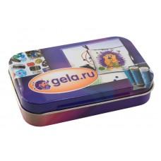 Металлическая коробочка для  мелкой фурнитуры, gela.ru