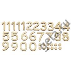 Набор цифр для часов, 35 шт
