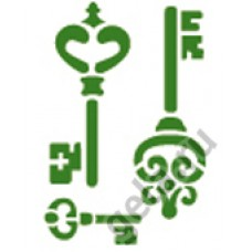 Трафарет, 3D Ключи