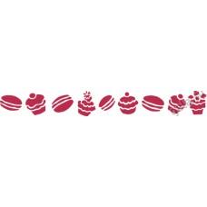 Трафарет Пирожные