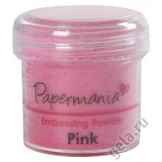 Пудра для тиснения, PAPERMANIA, розовый