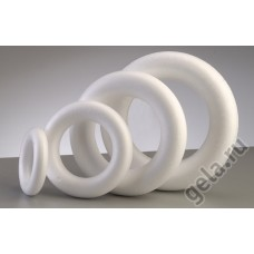 Форма из пенопласта Кольцо, диаметр 25 см