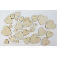 Набор для декора Сердечки круглые